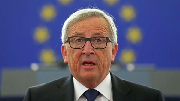 El presidente de la Comisión Europea, Jean-Claude Juncker - Sputnik Mundo