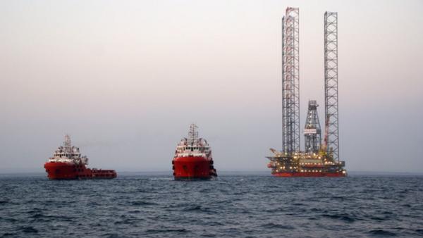 Plataforma de gas de Chernomorneftegas en el mar Negro - Sputnik Mundo