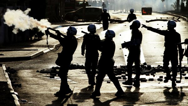 Protestas antigubernamentales en Bahréin - Sputnik Mundo