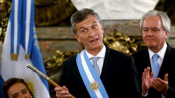 presidente argentino Mauricio Macri - Sputnik Mundo