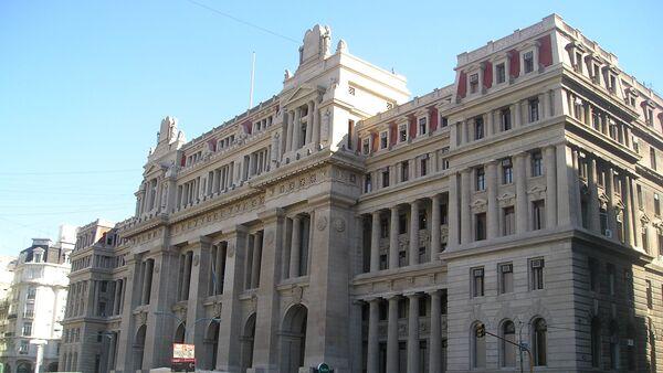 Palacio de Justicia, sede de la Corte Suprema de Justicia de Argentina - Sputnik Mundo