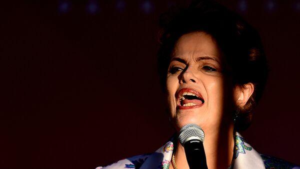 Dilma Roussef, presidenta de Brasil - Sputnik Mundo
