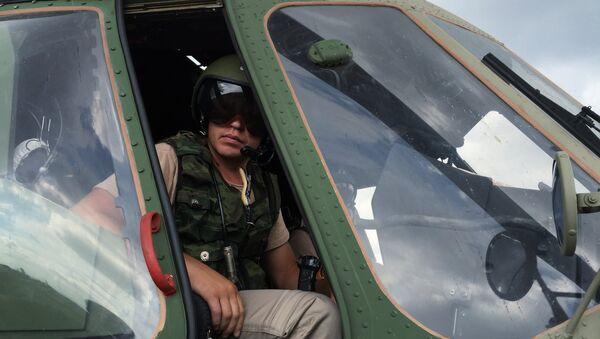 Piloto ruso en la base aérea de Hmeimim, Siria - Sputnik Mundo