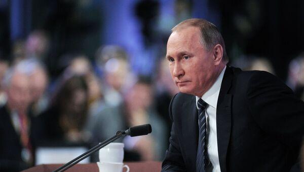 Gran rueda de prensa de Vladímir Putin - Sputnik Mundo