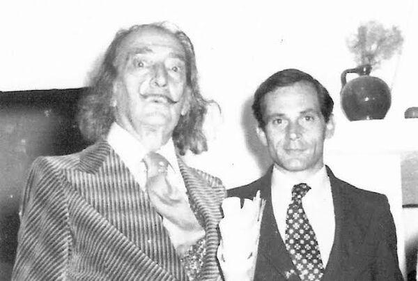 Salvador Dalí y Juan González-Quirós y Corujo, conde de La Carrera - Sputnik Mundo