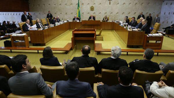 Tribunal Supremo de Brasil - Sputnik Mundo