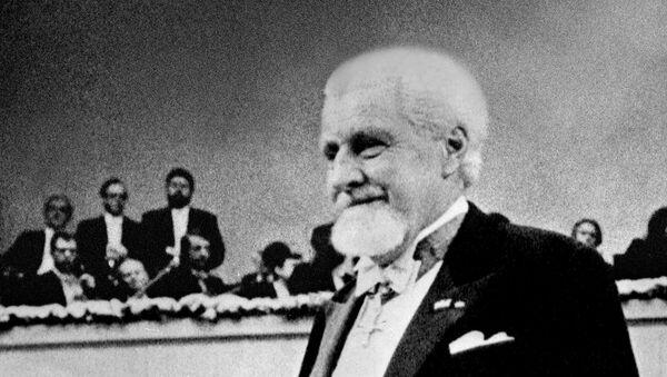 Konrad Lorenz, zoólogo austriaco, Nobel de Fisiología o Medicina - Sputnik Mundo