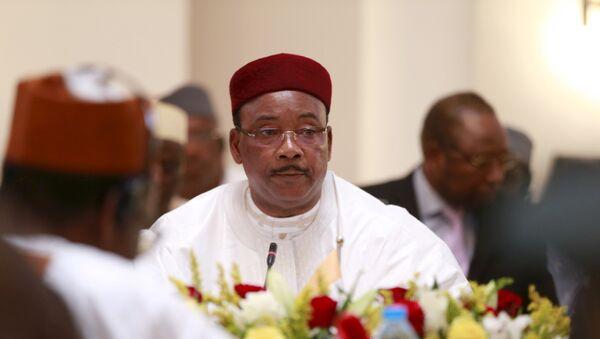Mahamadou Issoufou, presidente de Niger - Sputnik Mundo