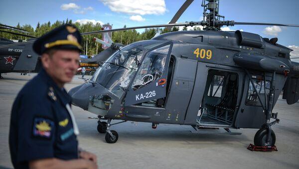 Helicóptero Ka-226 (archivo) - Sputnik Mundo