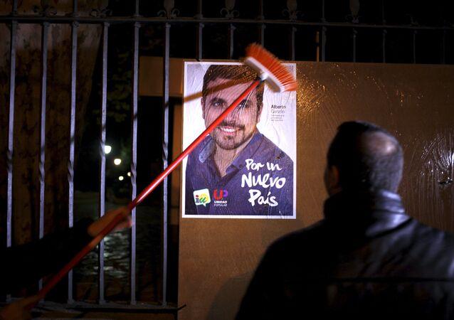 Cartel electoral de la Unidad Popular