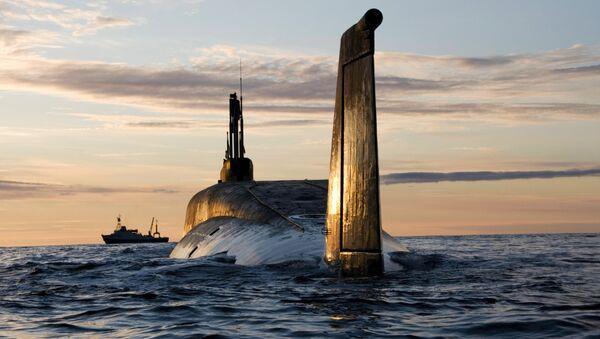 Yuri Dolgoruki, submarino nuclear de clase Borei - Sputnik Mundo