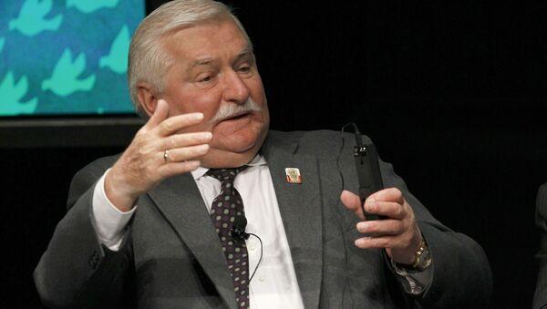 Lech Walesa, ex presidente polaco - Sputnik Mundo