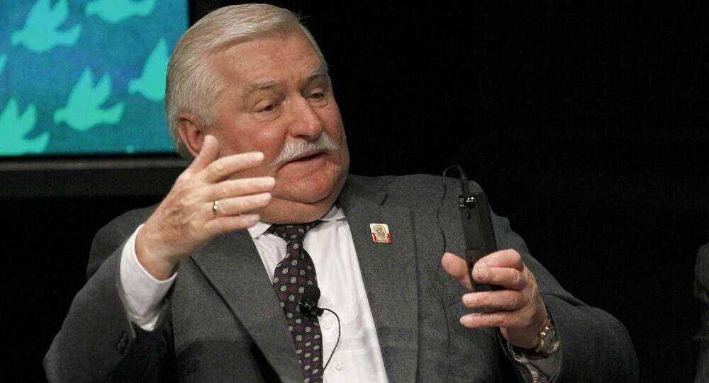 Lech Walesa, ex presidente polaco