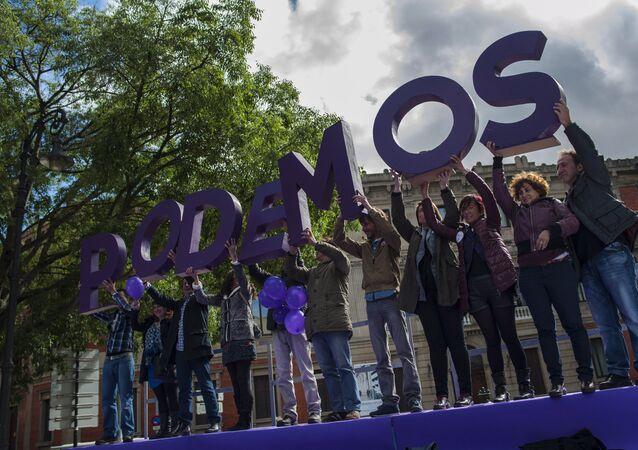 Logo de Podemos (Archivo)