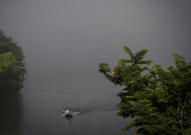 El río Amazonas (archivo)