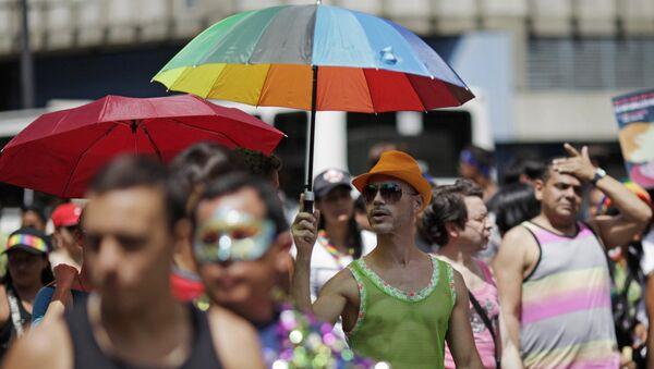 Desfile de orgullo LGBT en Caracas - Sputnik Mundo