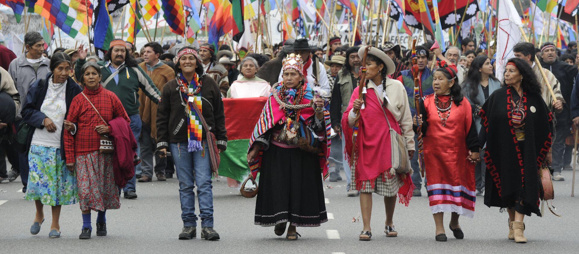 Indígenas de Argentina - Sputnik Mundo, 1920, 06.08.2020