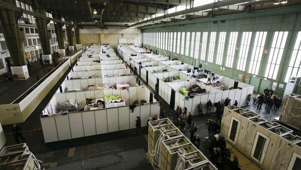 Refugio para migrantes en Alemania - Sputnik Mundo