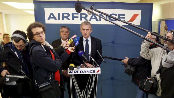 Frederic Gagey, presidente y jefe ejecutivo de Air France - Sputnik Mundo