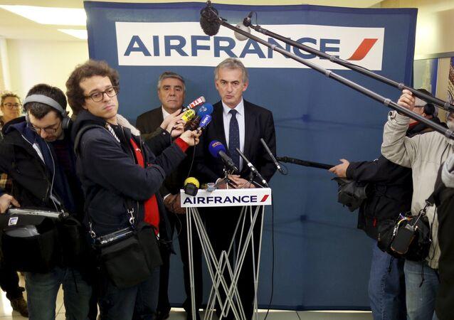 Frederic Gagey, presidente y jefe ejecutivo de Air France