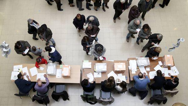 Las elecciones generales en España - Sputnik Mundo