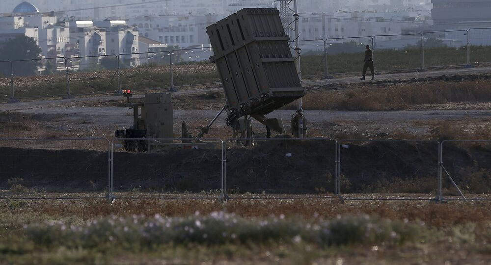 El sistema de defensa antimisil Cúpula de Hierro