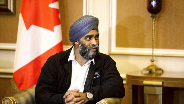 Harjit Sajjan, ministro de Defensa de Canadá - Sputnik Mundo