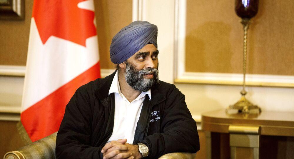 Harjit Sajjan, ministro de Defensa de Canadá
