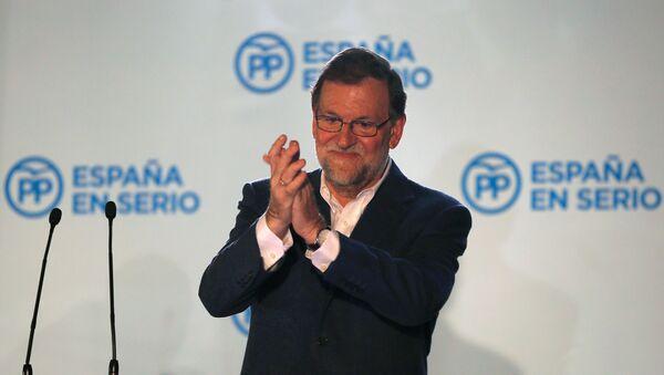 Mariano Rajoy, presidente del Partido Popular - Sputnik Mundo