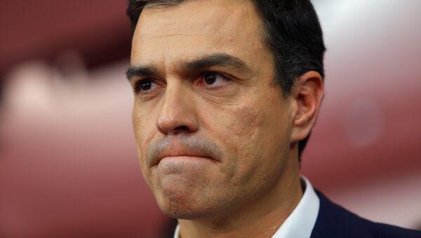 Pedro Sánchez, el secretario general de los socialistas del PSOE - Sputnik Mundo