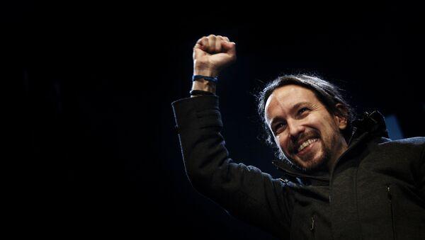 Pablo Iglesias, líder del partido de izquierda español Podemos (archivo) - Sputnik Mundo