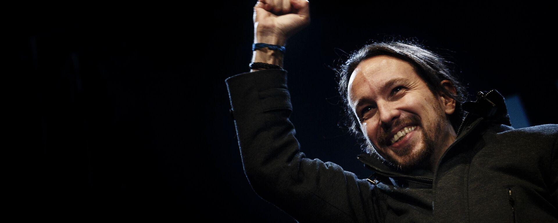 Pablo Iglesias, líder del partido de izquierda Podemos  - Sputnik Mundo, 1920, 22.04.2021
