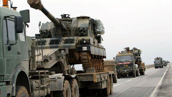Fuerzas Armadas de Turquía en la frontera con Irak - Sputnik Mundo