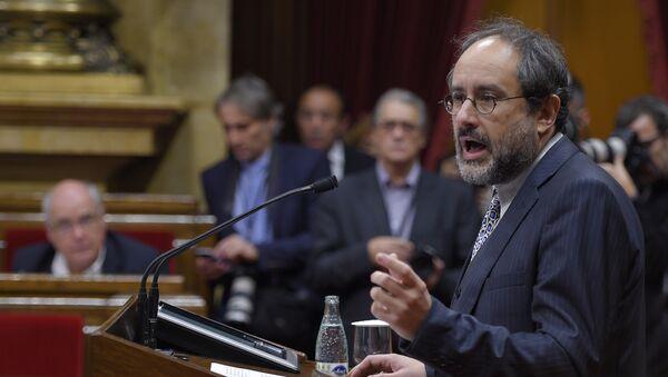 Antonio Baños, líder del partido CUP - Sputnik Mundo
