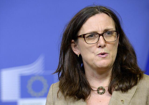 Cecilia Malmstrom, comisaria europea de Comercio