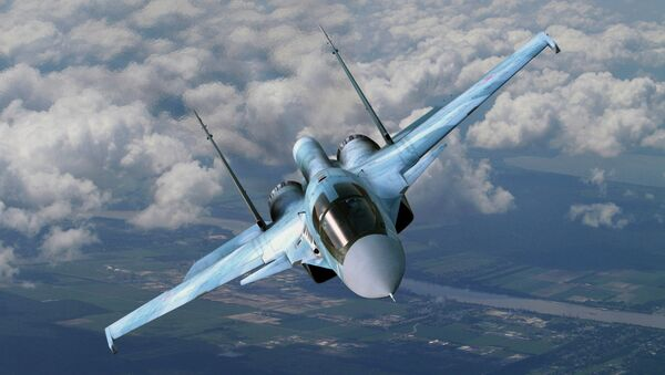 Cazabombardero Su-34 ruso - Sputnik Mundo