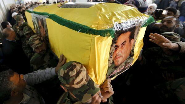 Funeral de Samir Kuntar - Sputnik Mundo