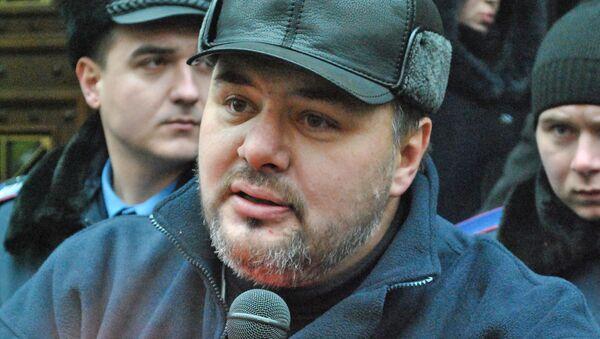 Ruslán Kotsaba, periodista ucraniano - Sputnik Mundo