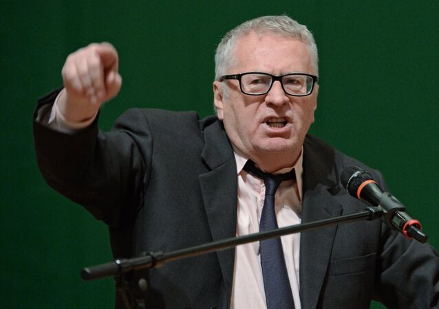 Vladímir Zhirinovski, el líder del Partido Liberal Demócrata ruso