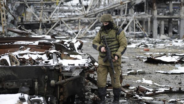 Aeropuerto de Donetsk - Sputnik Mundo