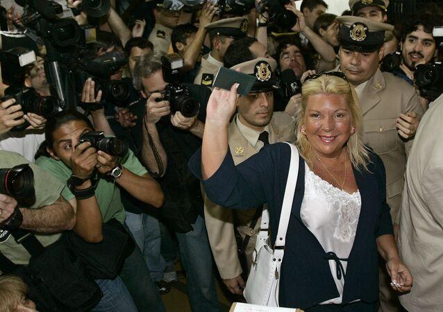 Elisa Carrió, diputada argentina (archivo)