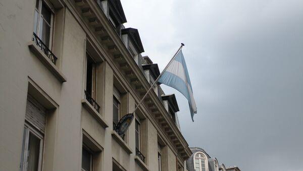 Embajada de Argentina en Francia - Sputnik Mundo