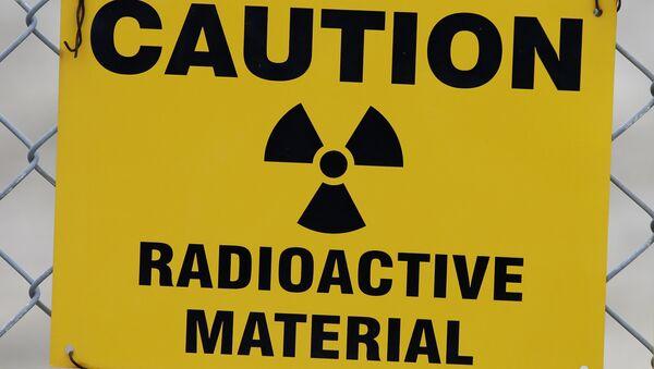 Señal de advertencia de residuos nucleares - Sputnik Mundo