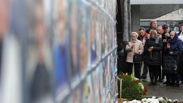 Homenaje a las víctimas del atentado terrorista de Dubrovka - Sputnik Mundo