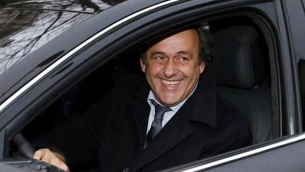 Michel Platini, expresidente de la UEFA - Sputnik Mundo