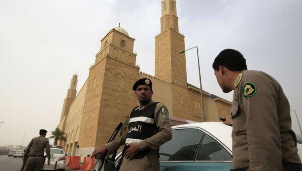 Policía de Arabia Saudí - Sputnik Mundo