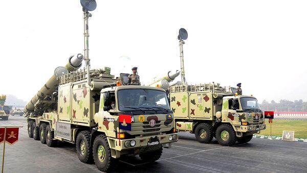 Sistemas de misiles BrahMos de las Fuerzas Armadas de la India - Sputnik Mundo