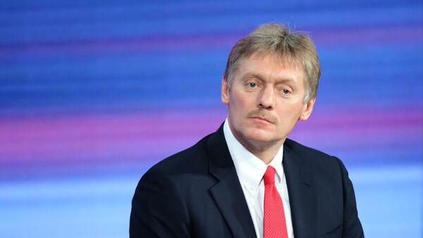 Dmitri Peskov, el secretario de prensa del presidente de Rusia Vladímir Putin - Sputnik Mundo