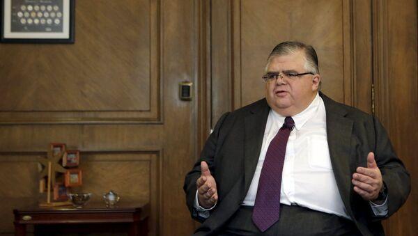 Gobernador del Banco de México, Agustín Carstens - Sputnik Mundo