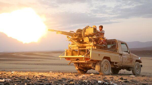 Guerra en Yemen (archivo) - Sputnik Mundo
